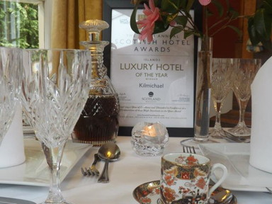 Scottish Hotel Awards - Islands Luxury Hotel of the Year 2013 - larger image