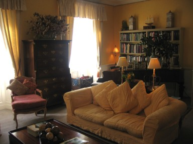 The Main House - The Yellow Drawing Room - larger image