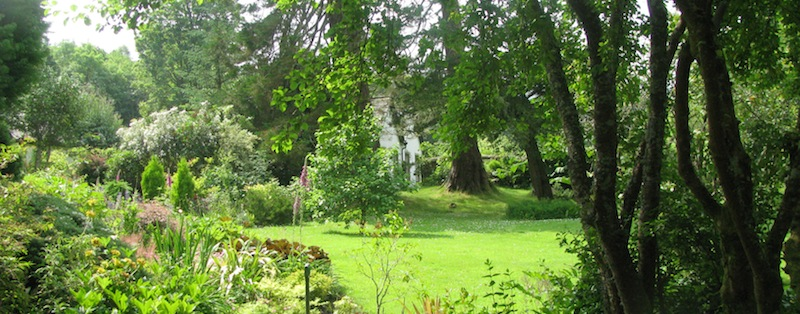 Kilmichael Hotel - beautiful gardens
